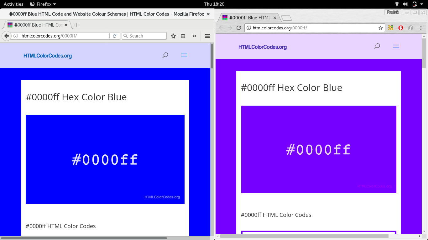 Fixing color issue in Fedora 26, Chrome and external monitor – Mind